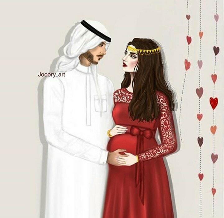 صور حوامل جميلة كيوت 2021 صور بنات نساء حوامل مع ازواجهم